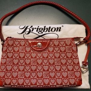 Brighton Red Signature Jacquard Purse